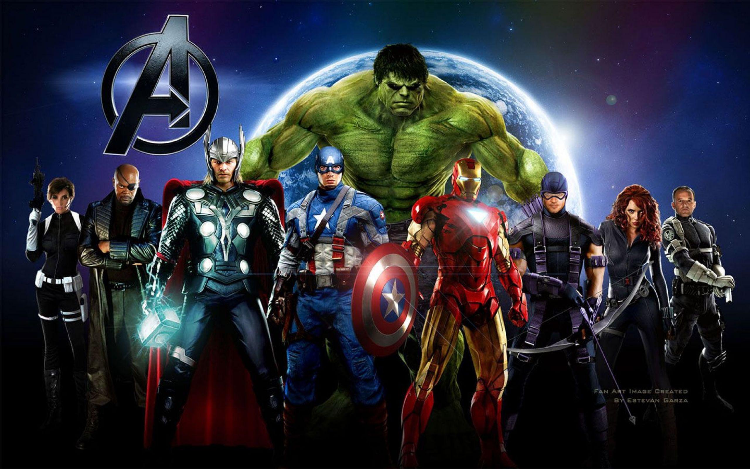 Arrieres Plans Avengers Maximumwallhd