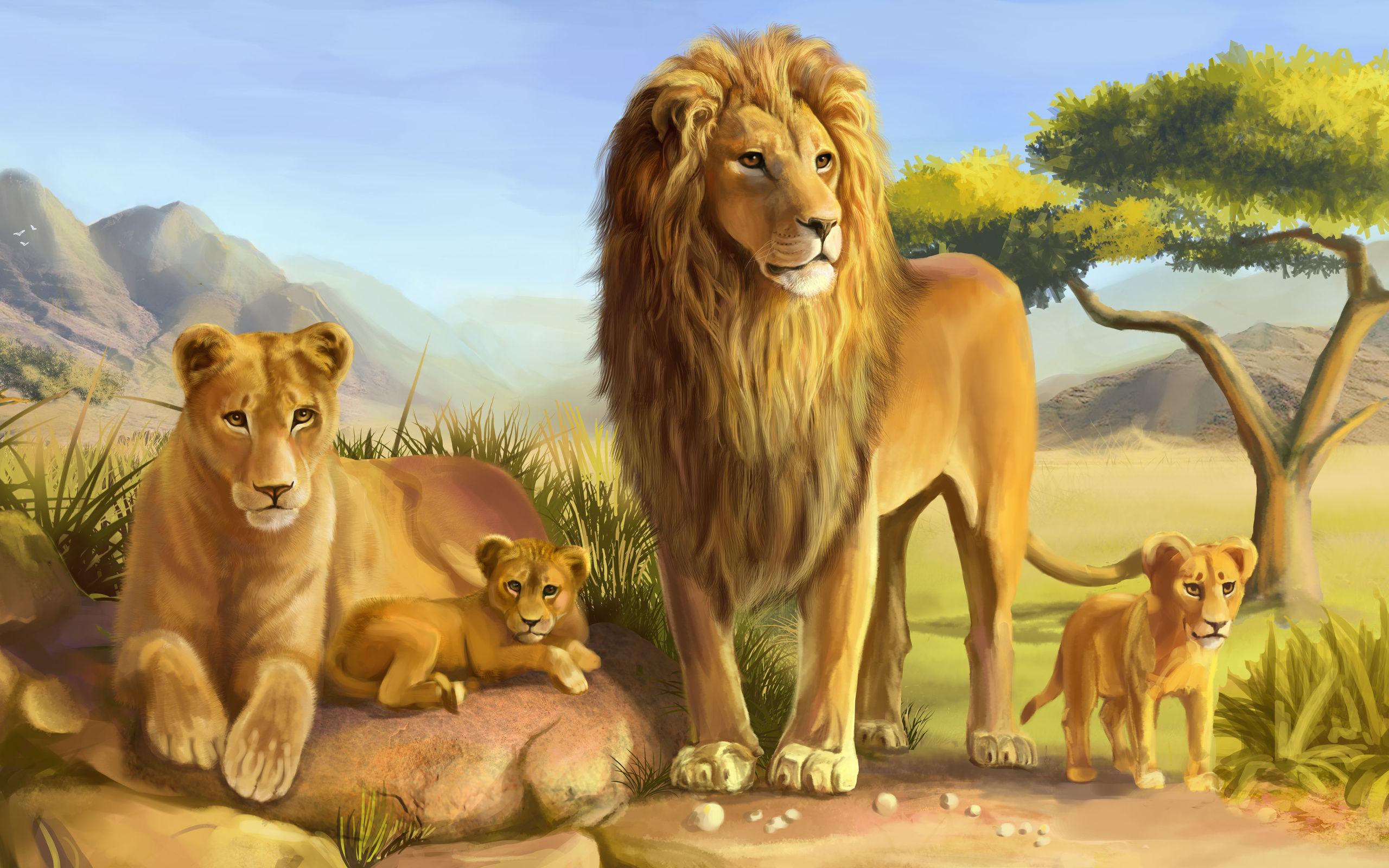 Wallpapers Lion Maximumwallhd