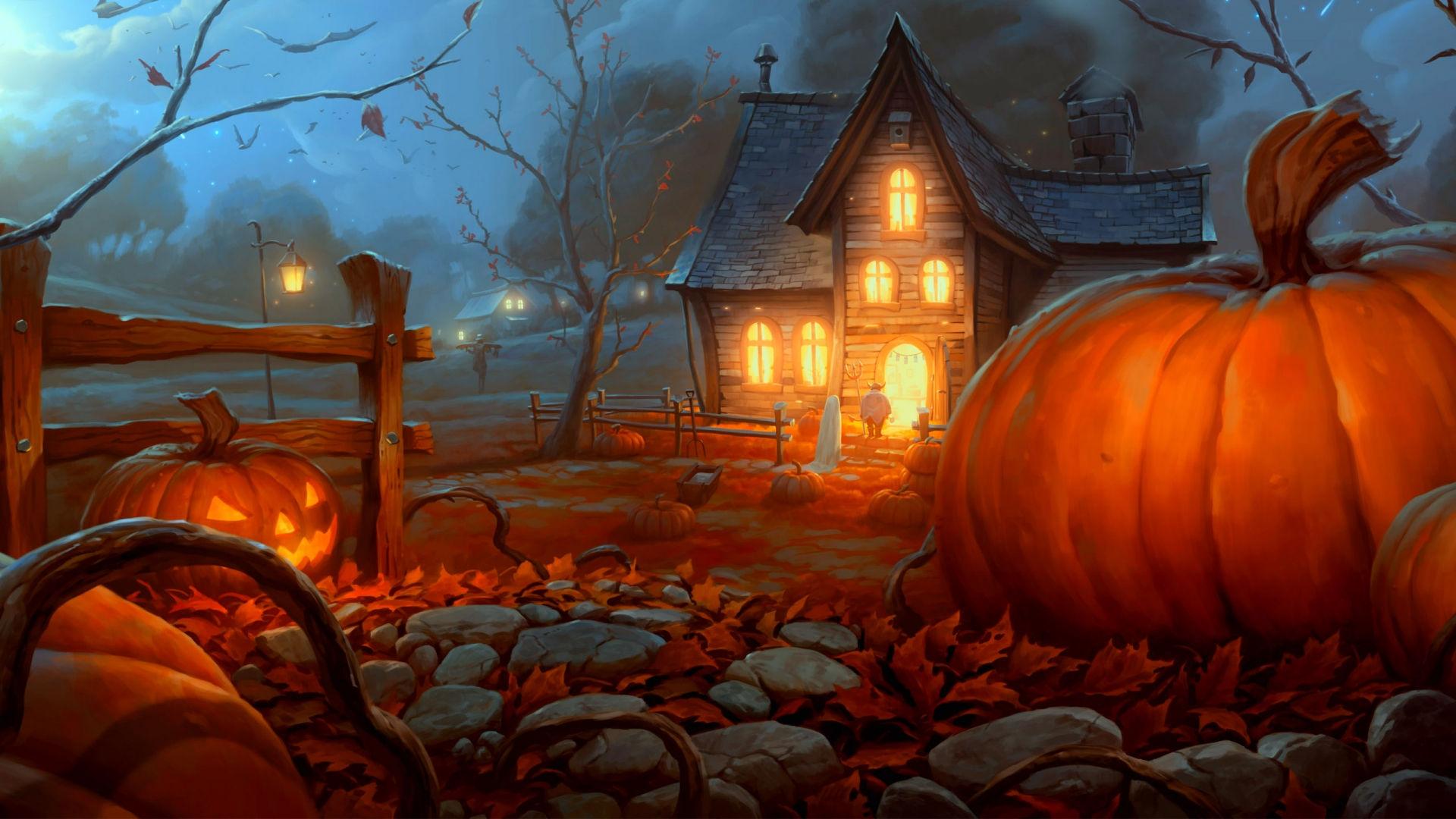 Fonds D Ecran Halloween Maximumwallhd