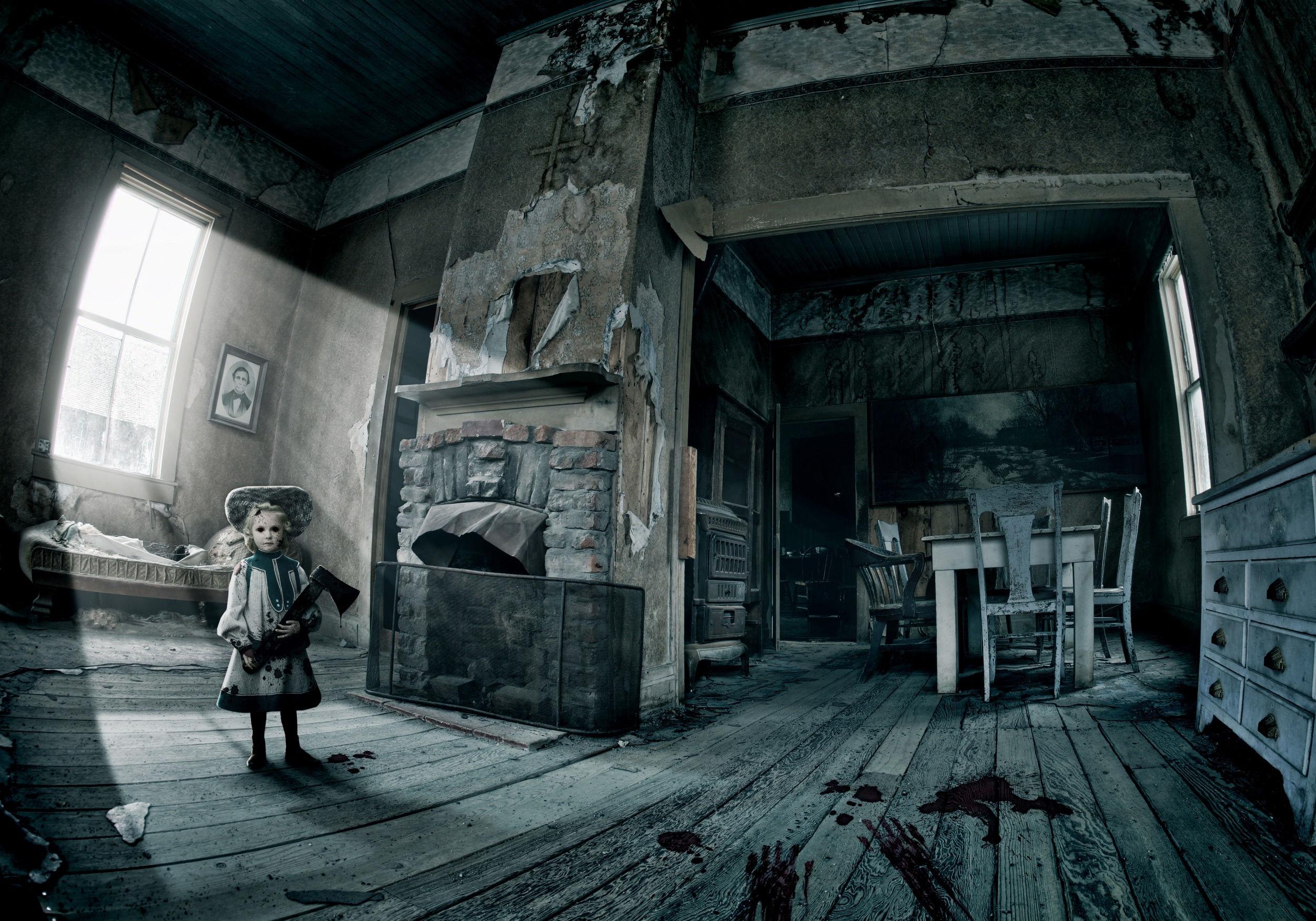 Fonds d 39 cran halloween maisons hant es maximumwallhd for American chambre