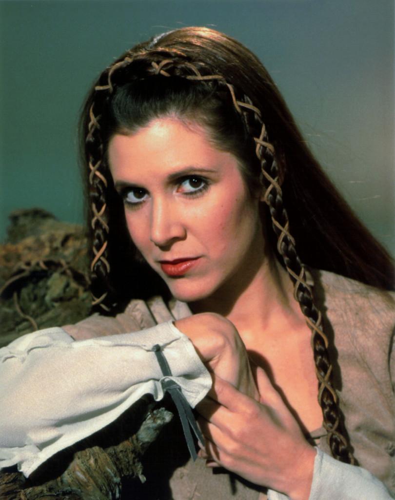 Décès de Carrie Fisher et de Debbie Reynolds- Hommage à deux étoiles du cinéma - Page 2 Fonds-ecran-carrie-fisher-05-810x1024