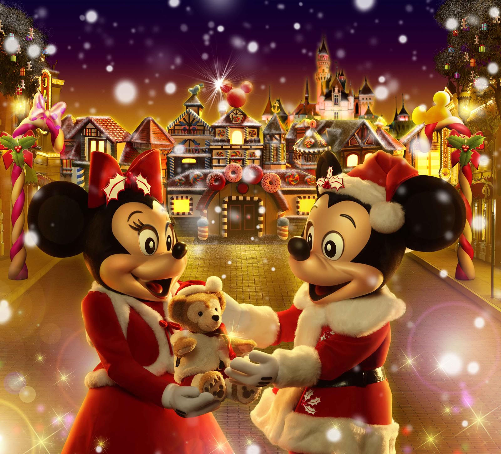 Image De Noel Walt Disney.Fond Decran Gratuit Walt Disney Larmoric Com