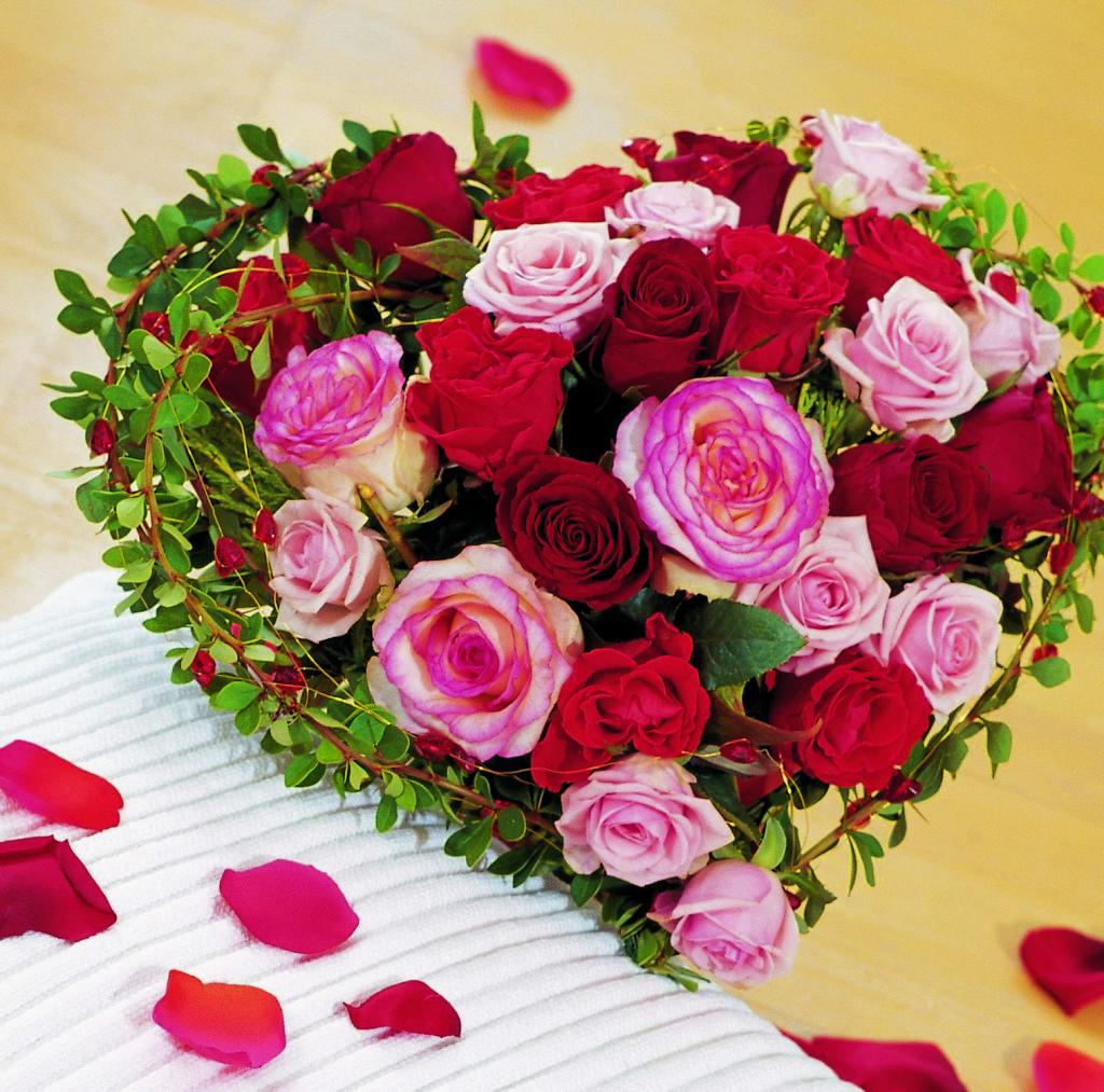 Fonds d 39 cran st valentin fleur maximumwallhd - Saint valentin fleurs ...
