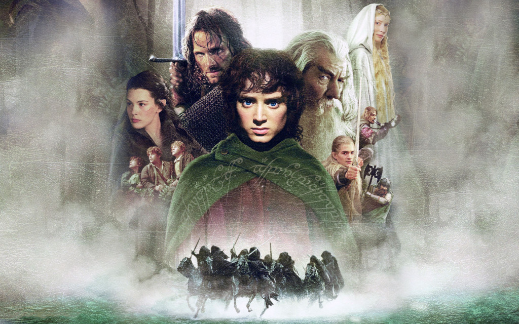 Fonds D'écran The Lord Of The Rings - The Fellowship Of The Ring