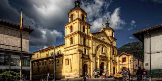 Arrière plan haute définition Bogota