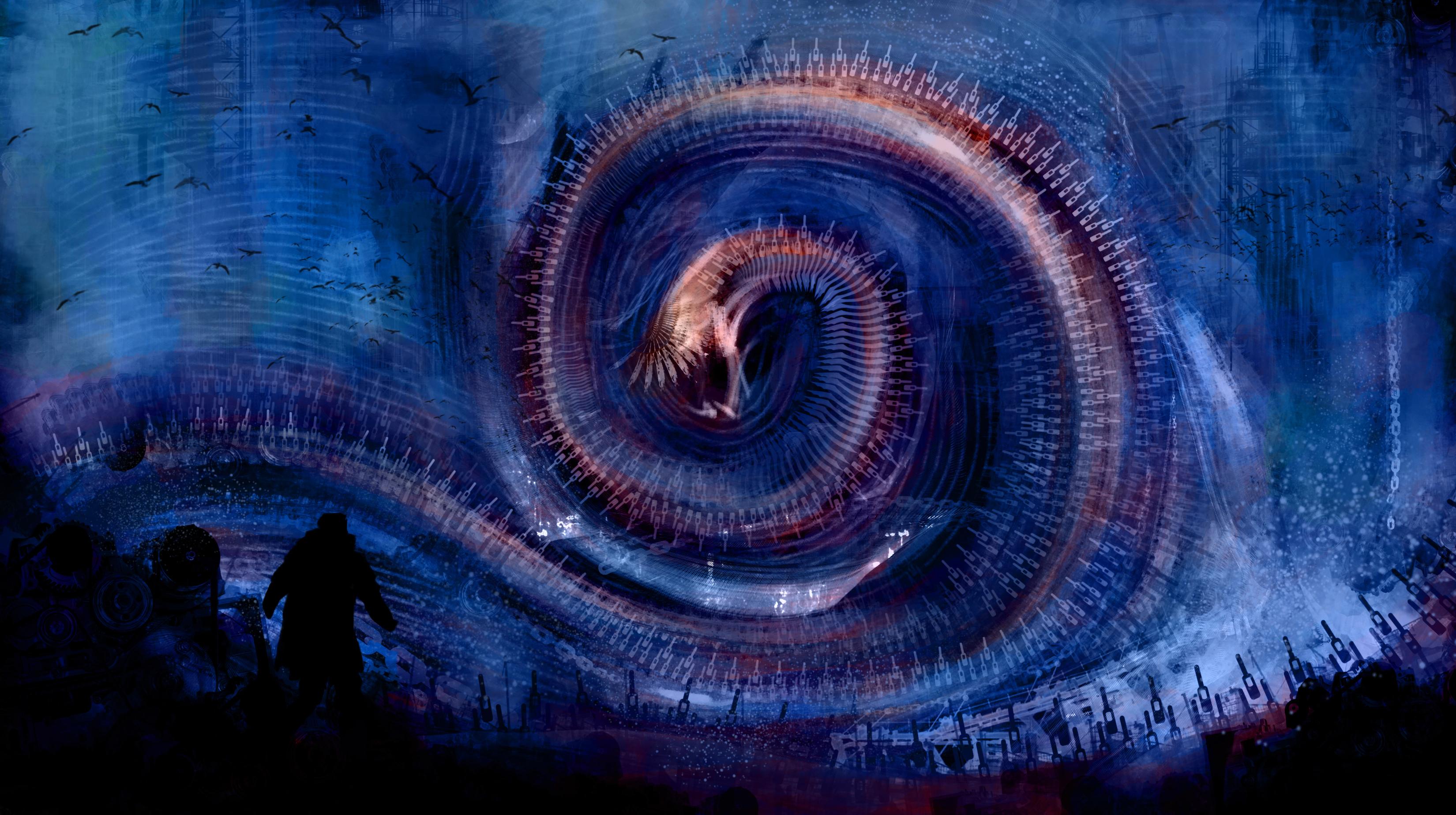 Assez Fonds D'écran Abstrait Créature - MaximumWallHD DR11