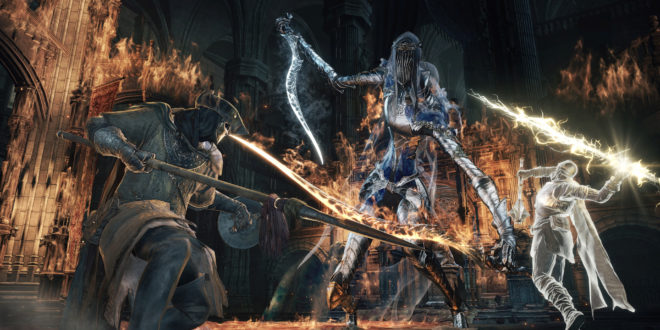 Arrière plan Dark Souls 3