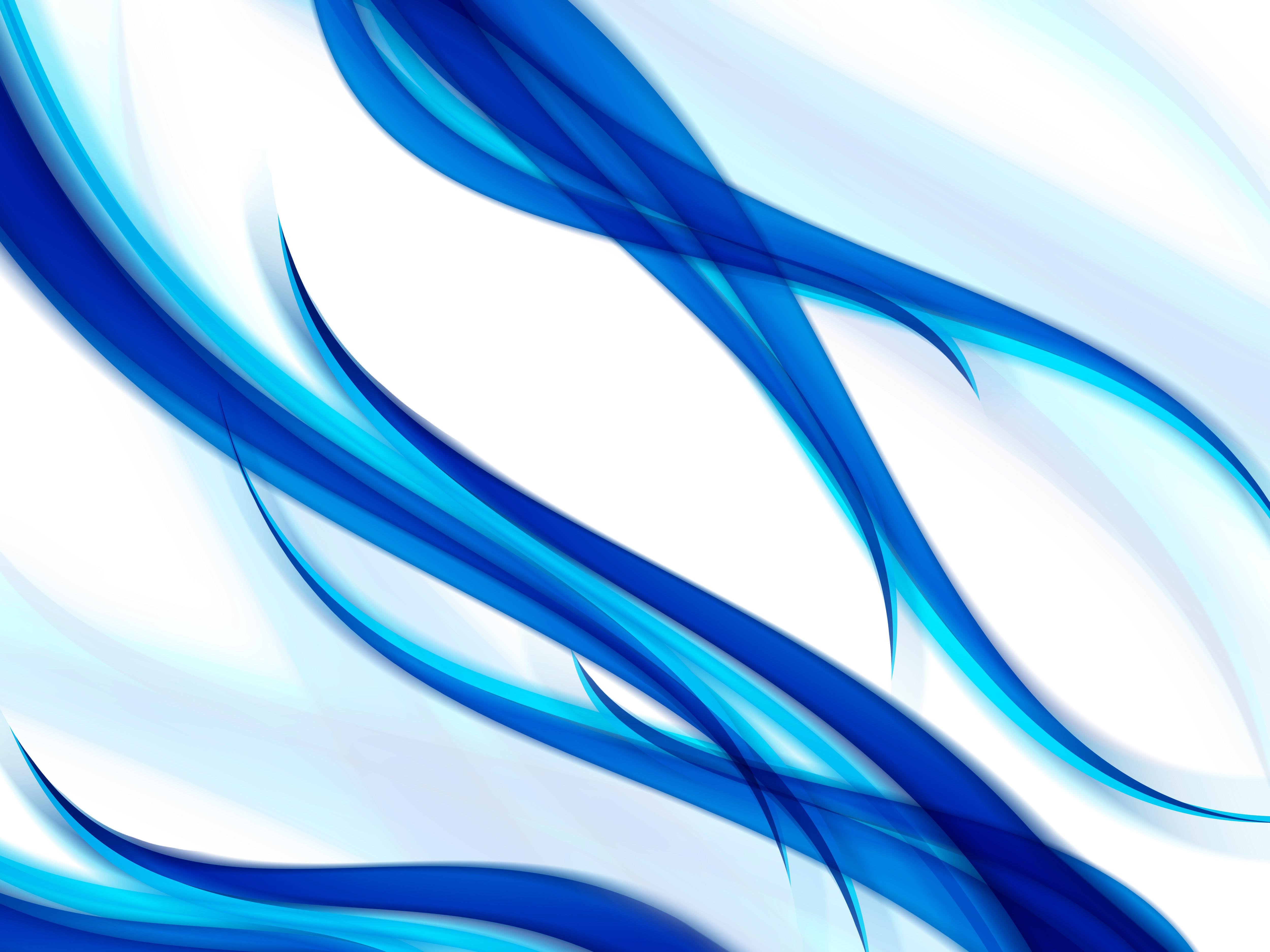 Gut bekannt Fonds D'écran Abstrait Bleu - MaximumWallHD YP39