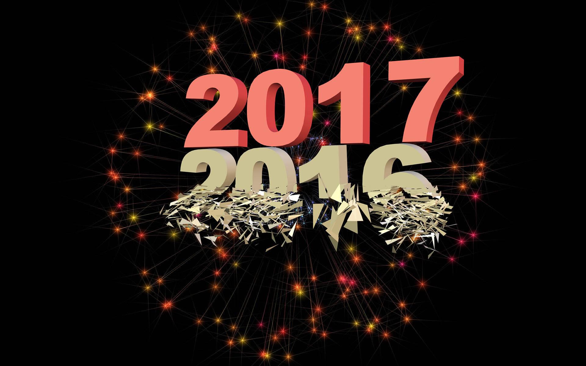 Bonne Année 2017 - MaximumWallHD
